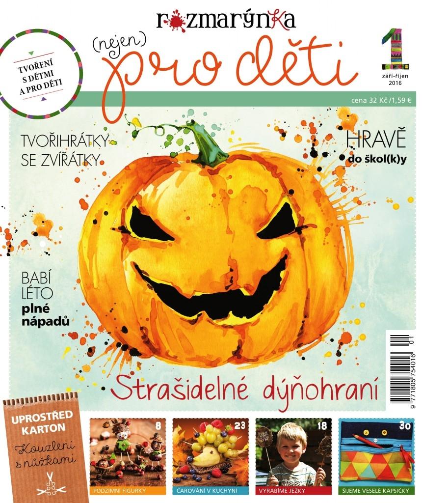 Nový časopis Rozmarýnka je na světě