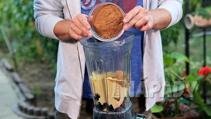 Recept na řepné muffiny: v mixéru uděláme těsto