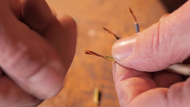 Příprava kabelu