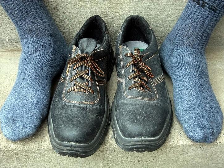 Jak si boty zkoušet?