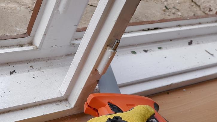 Vyjmutí špaletového okna