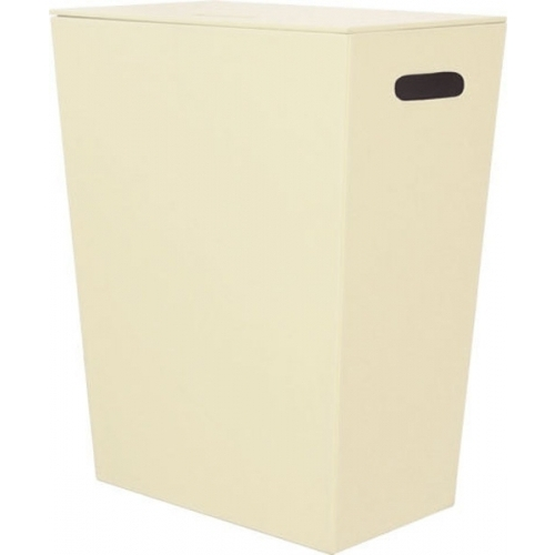 SAPHO Koh-i-noor 2463CR ECO PELLE koš na prádlo 47x30x60cm, krémová