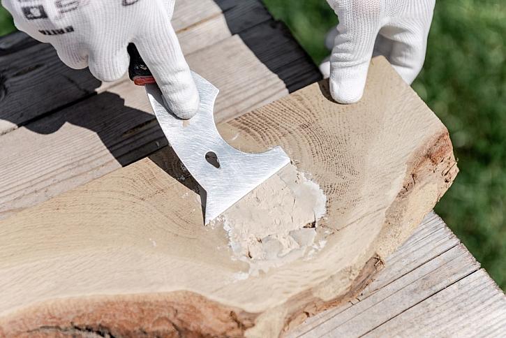 tmelení dřeva