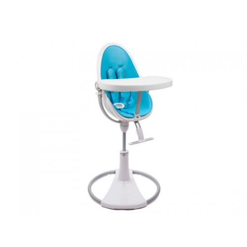 Bloom Židlička Fresco Chrome bílá, bez podložky