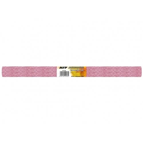MFP krepový papír role 50x200cm perleťový růžový