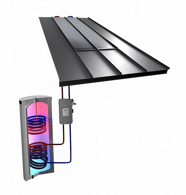Systém pro ohřev teplé vody