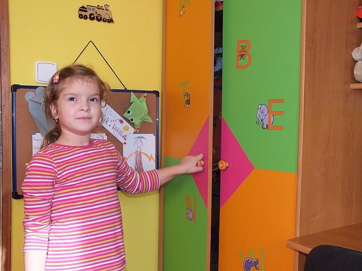 Adhezivní folie v dětském pokoji