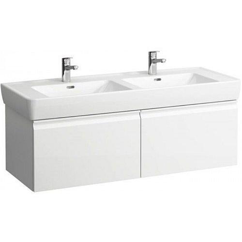 LAUFEN PRO S skříňka pod umyvadlo 1260x460x390 mm bílá mat