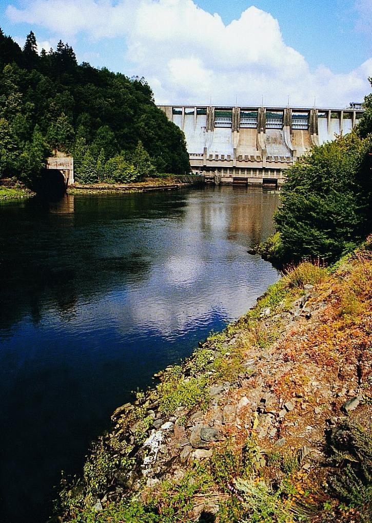 Víc elektřiny z vodních elektráren