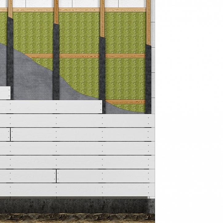 Fasády s otevřenými spárami