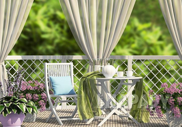 Balkonové závěsy