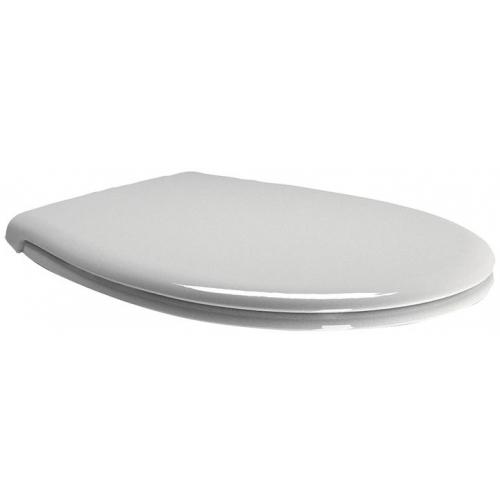 SAPHO WC sedátko Soft Close, duroplast bílá/chrom