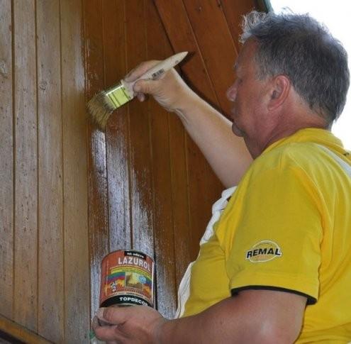 Renovace venkovního dřevěného obložení