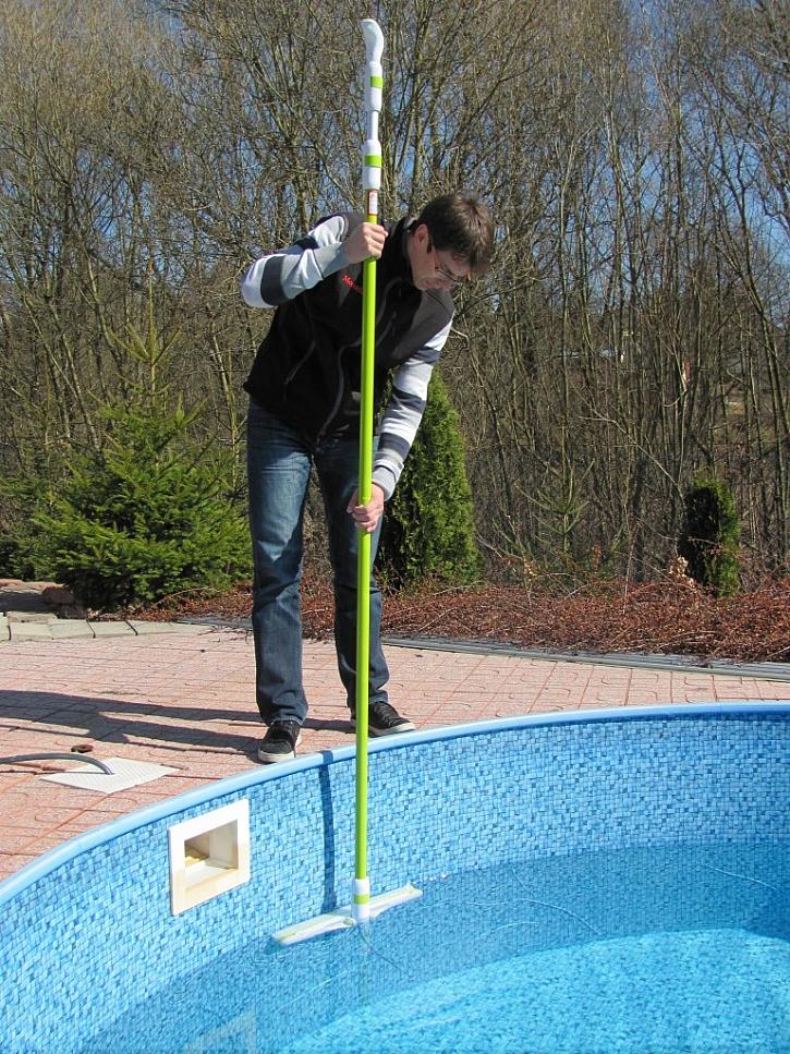 Očistěte bazén