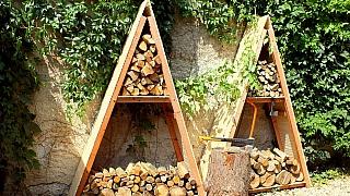 Jak vyrobit jednoduchý přístřešek na dřevo do kamen za jedno odpoledne