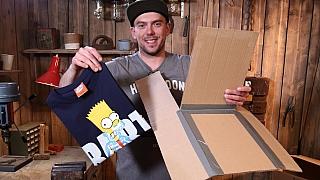 Báječná vychytávka Ládi Hrušky na skládání triček