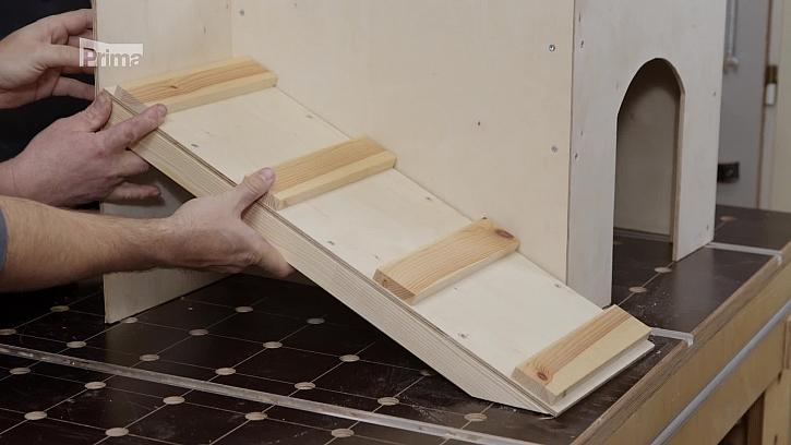 Instalace schodů
