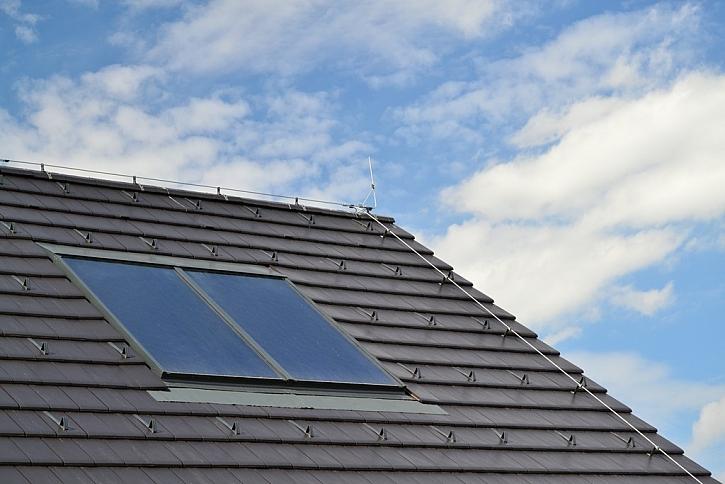Tepelné čerpadlo a solární panely