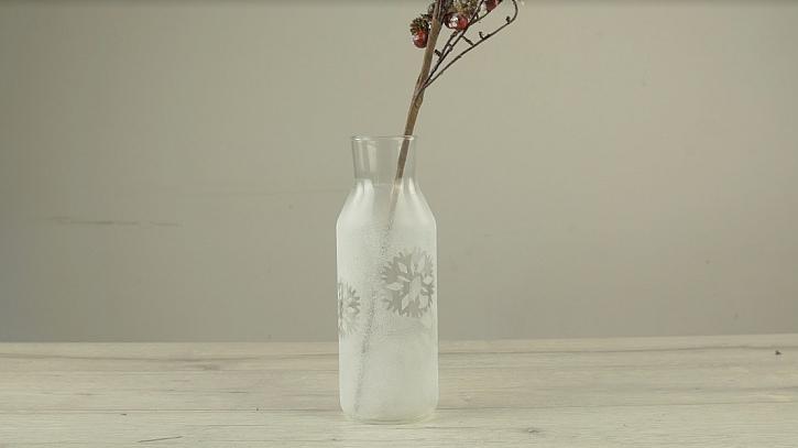 Kouzelně zamrzlá váza na váš stůl