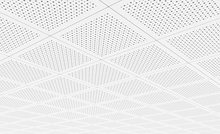 Akustické stropní podhledy mohou být i velmi dekorativní