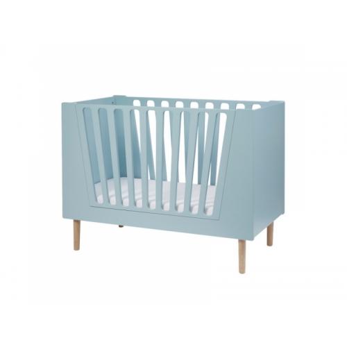 DONE BY DEER Dětská postýlka 120x60 cm - modrá