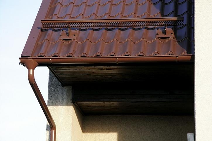 Odborník radí: Připravte střechu a okapy na zimu.