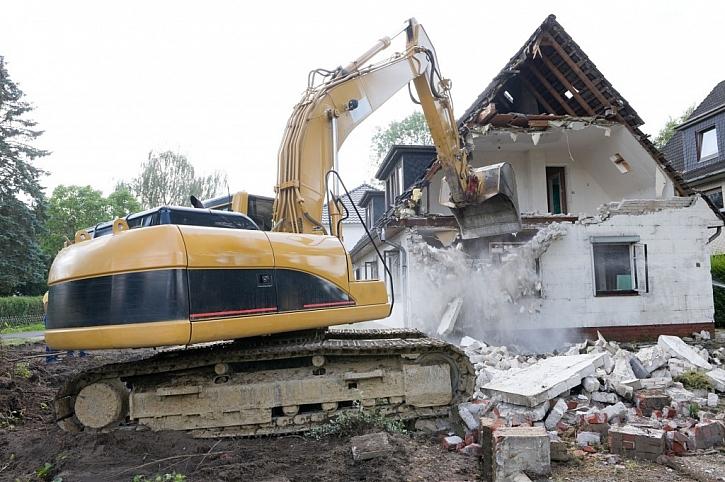 Je na posouzení statika, zda určí dům k demolici