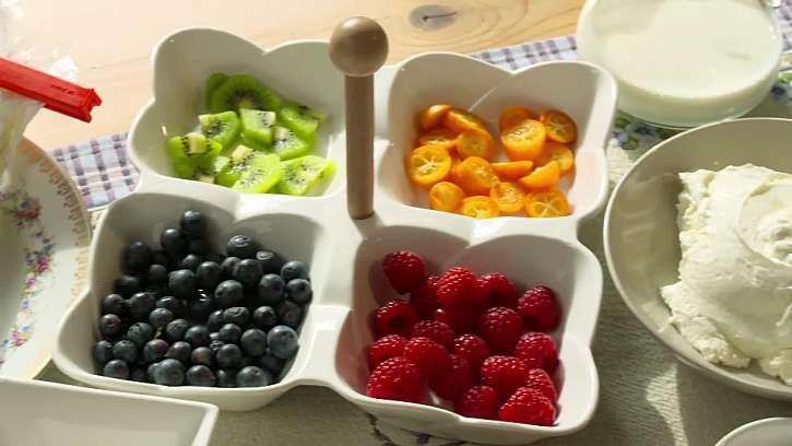 Ovoce na zdobení