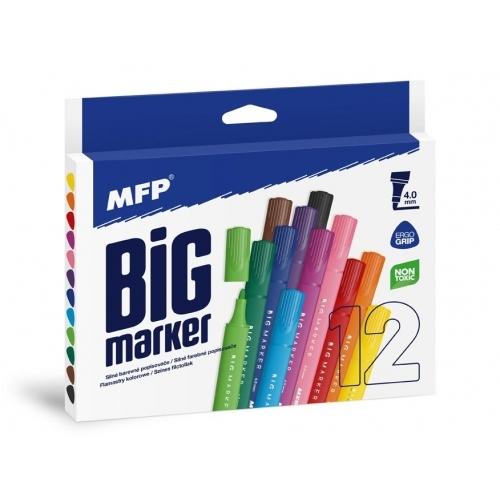 MFP popisovače Jumbo 12 barev 4,0mm trojhranné