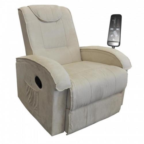 Masážní křeslo BOB béžová K40, IDEA nábytek