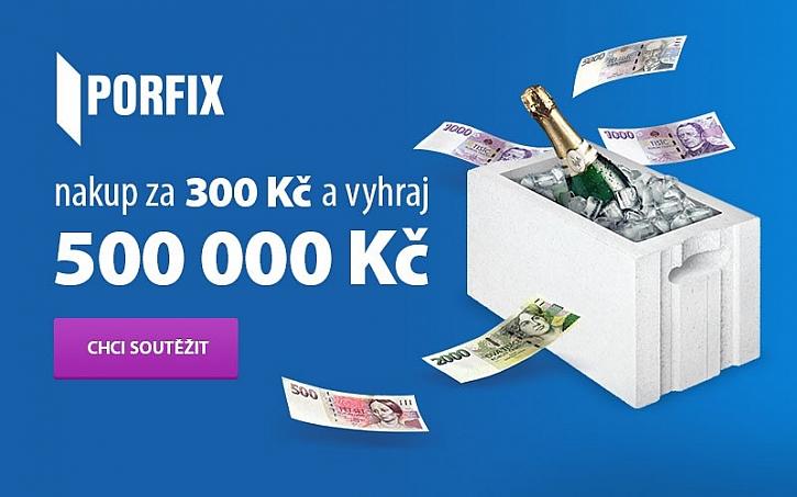 NAKUP PROFIX A VYHRAJ 500.000 Kč s PORFIXem