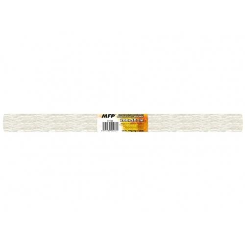 MFP krepový papír role 50x200cm perleťový bílý