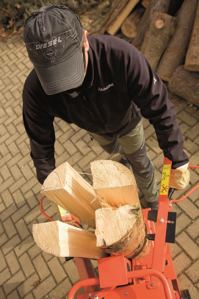 Štípačka na dřevo