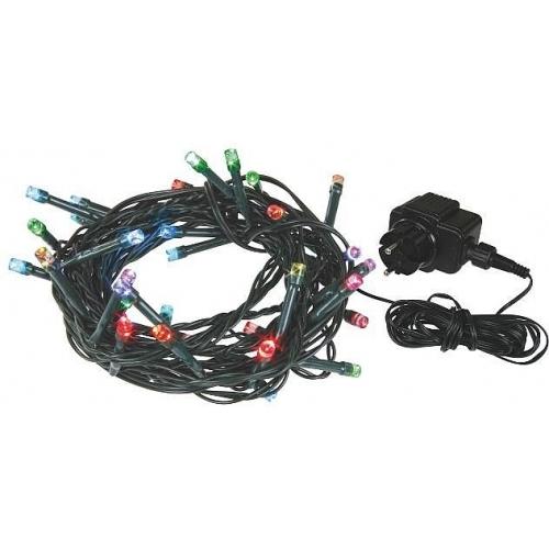 Vánoční osvětlení 240 LED - 24m IP44 MC/BAREVNÉ
