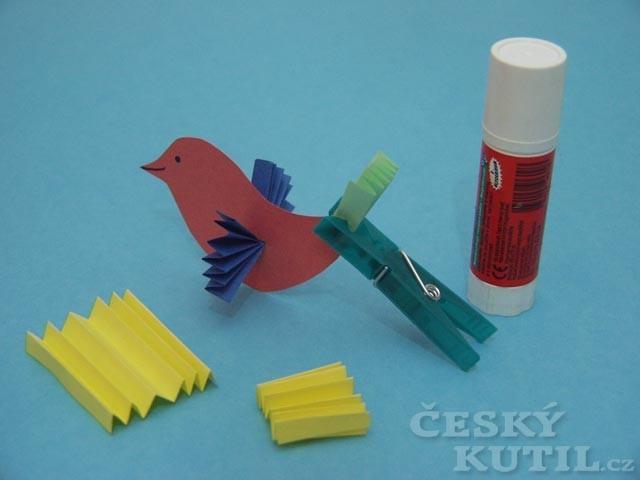 Hejno, které neuletí – výroba závěsného mobilu s ptáčky
