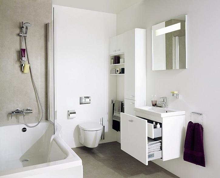 Řešení pro malé koupelny