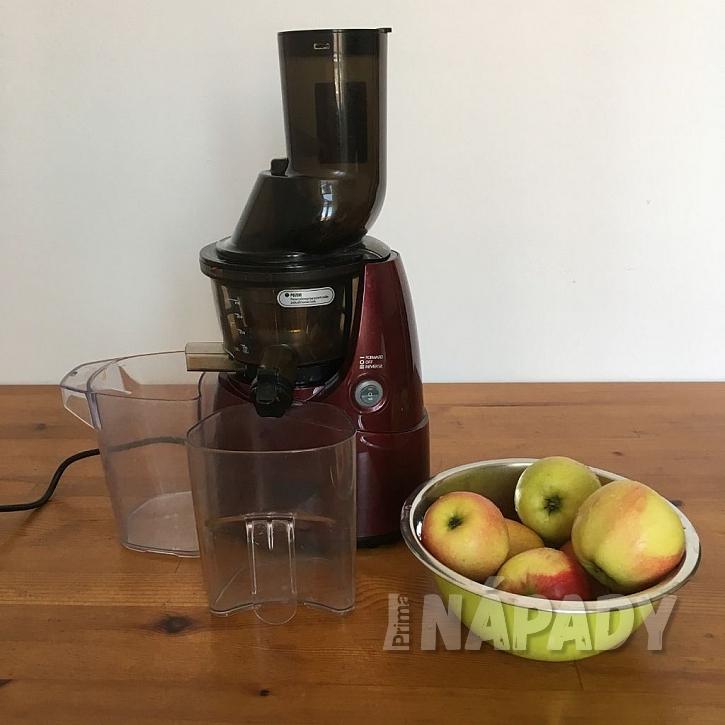 Výroba domácího jablečného moštu