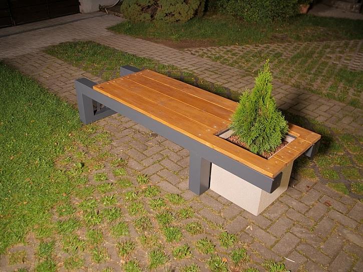 Designová lavička 3 v 1