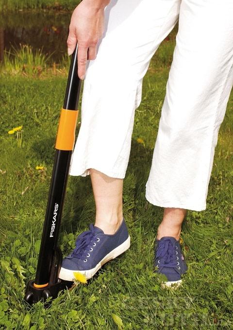 Používání odstraňovače plevele