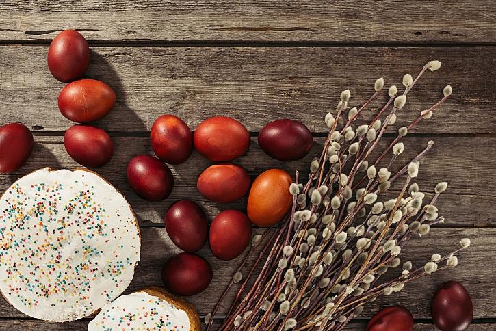 Vejce jsou symbolem Velikonoc (Zdroj: Depositphotos)