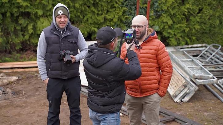 Pepa Beneš přijel s termokamerou. Na co jí má?