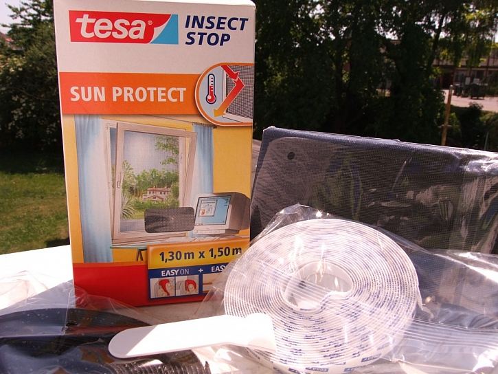 Síť proti hmyzu: Aby slunce neškodilo a hmyz neobtěžoval