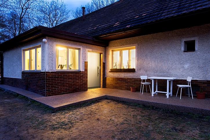 Starý dům s velkým pozemkem - v hlavní roli proměna a úprava koupelny