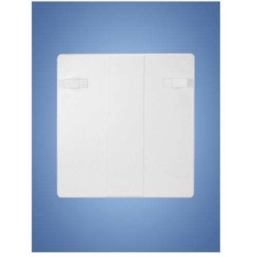 HACO revizní dvířka RD 400x400 B plast, bílá