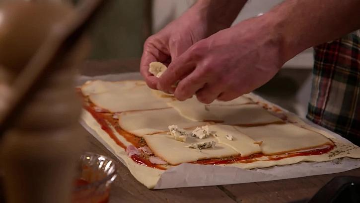 Přidání plísňového sýra
