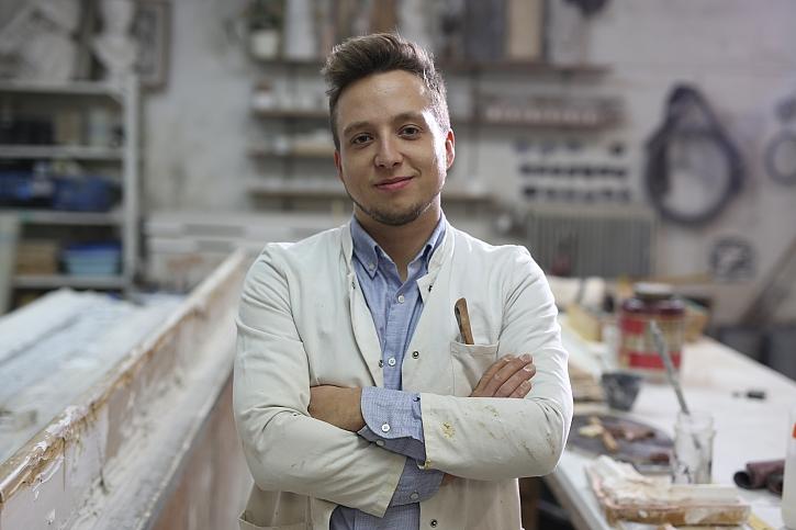 Oliver Braun - umělecký štukatér