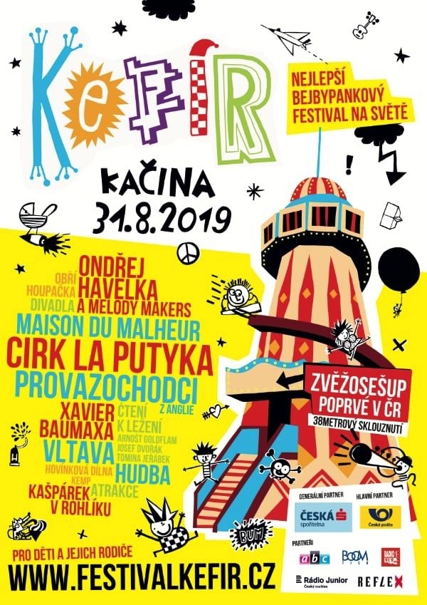 Zveme vás na festival Kefír 2019
