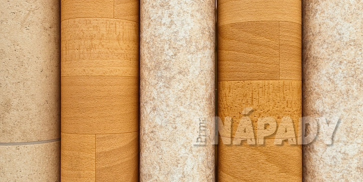 Srolované PVC podlahové krytiny