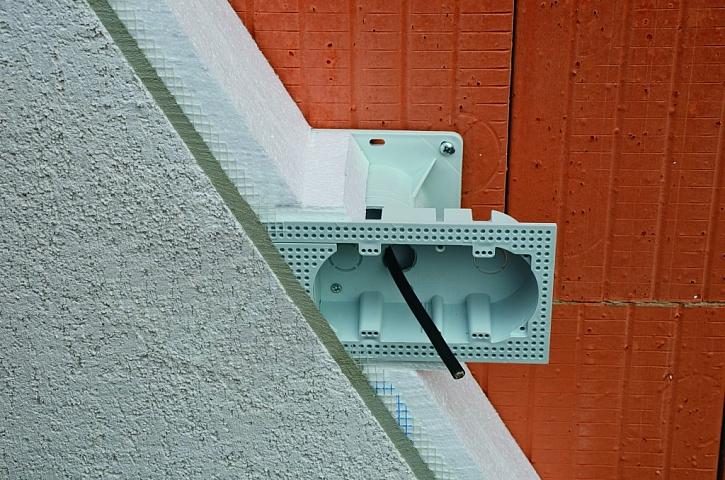 Elektroinstalační krabice do zateplení KEZ-3