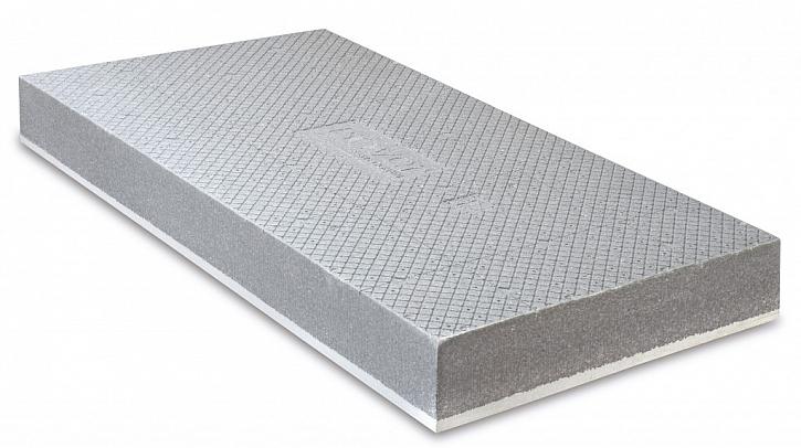 NOVINKA – šedý fasádní polystyren s bílou ochrannou vrstvou